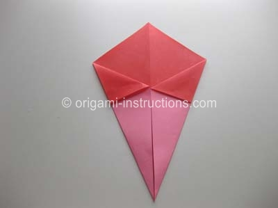 How To Make An Origami Twisty Rose Step By Step