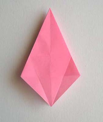 Origami Lily flower photo diagrams 9