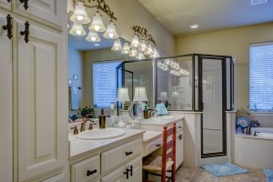bathroom, floooring