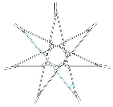 Heptagonal Star