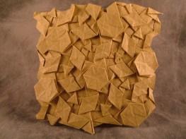 3464 Waterbomb Flagstone Tessellation, Reverse