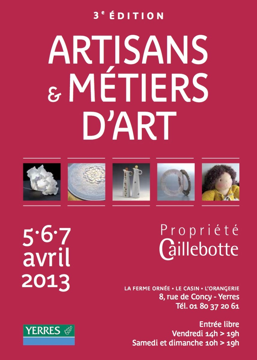 New Exhibition April 5-7 in Paris