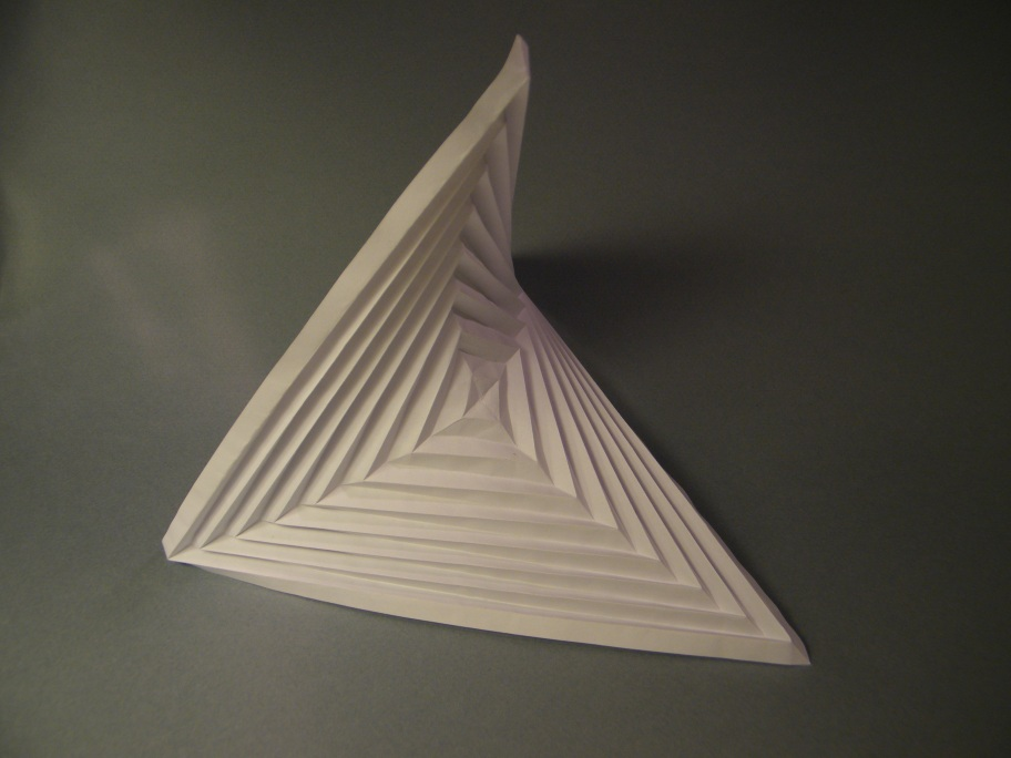 Origami Hyperbolic Paraboloid Instructions