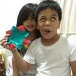 Origami Picture Frame, Golda & Ben | TUTORIAL: http://wp.me/p5AUsW-5P