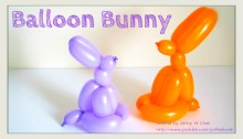 balloon rabbit origami origamitree.com