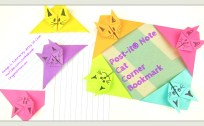 Cat Bookmark Tutorial by Jenny W. Chan, Origami Tree