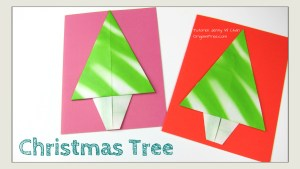 christmas tree origami origamitree.com