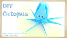 Origami Octopus Tutorial by Jenny W.Chan Origami Tree