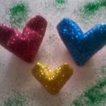Origami 3D Hearts with Glitter, Savina A.K. | TUTORIAL: http://wp.me/p5AUsW-5C