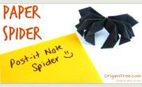 spider origami origamitree.com