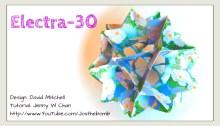 origami electra 30 origamitree.com