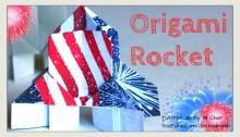 Origami Rocket Tutorial | Origami Tree