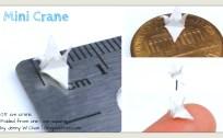 mini paper crane origami crane origamitree.com