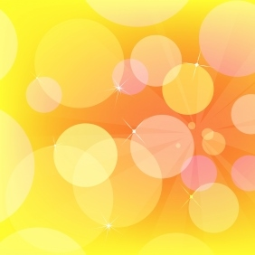 image about Printable Bubbles named Yellow Bubbles - Absolutely free Printable Origami Paper »