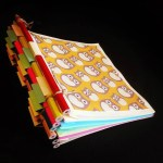 Color Pencils Hinge Book, @xhappymailx (Instagram) | TUTORIAL: http://wp.me/s5AUsW-3942