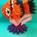 Origami 3D Nemo, @origamees (Instagram) | TUTORIAL: http://wp.me/p5AUsW-102