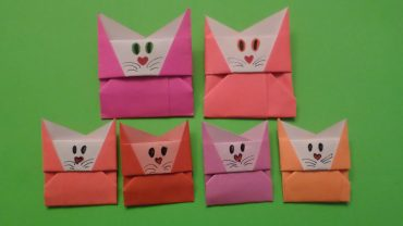 Origami Cat Envelope, Carlos B. | TUTORIAL: http://bit.ly/CatEnvelope