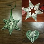 Origami Money Star, fitgirl_aimzylla (Instagram) | TUTORIAL: http://wp.me/p5AUsW-43