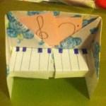 Origami Piano, Sarah B. | TUTORIAL: http://wp.me/s5AUsW-piano