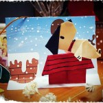 Origami Snoopy & House, haameawaey (Instagram) | TUTORIAL: http://wp.me/p5AUsW-QV