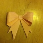 Paper Bow Tutorial OrigamiTree.com