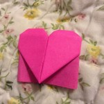 Post-it (R) Note Heart Bookmark, @meowtastic15, Instagram | TUTORIAL: http://wp.me/p5AUsW-5E
