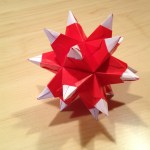 Stellated Icosahedron, Dean P. | TUTORIAL: http://wp.me/p5AUsW-3i