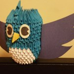 Origami Tweet Bird, Yared P. | TUTORIAL: http://wp.me/p5AUsW-5x