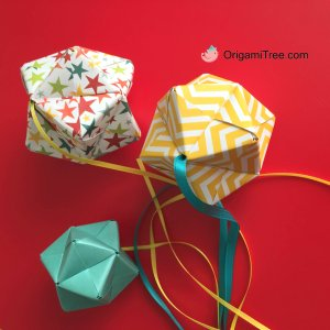 5 Origami Sonobe Baby Mobile Origami OrigamiTree by Jenny W Chan