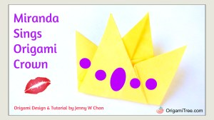 Miranda Sings Origami Crown Thumbnail