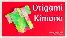 Origami Kimono Thumbnail OrigamiTree.com