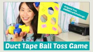 Duct Tape Craft Ball Toss Game Jenny W Chan - OrigamiTree.com