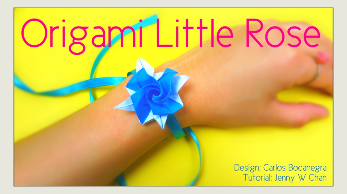Origami Rose - Little Rose Bracelet