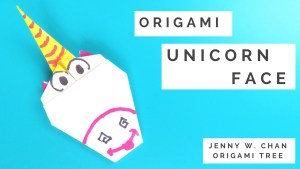Origami Unicorn Tutorial - Face - OrigamiTree.com