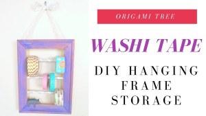 Washi Tape Holder DIY   Jenny W Chan Origami Tree