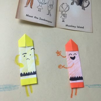Origami Crayon - The Day The Crayons Quit3