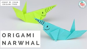 Origami Narwhale Tutorial