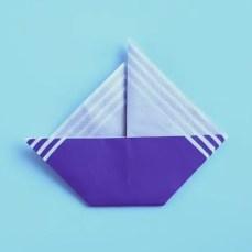 Napkin Folding Boat