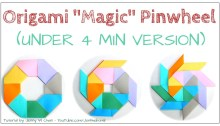 origami pinwheel ninja star instructions