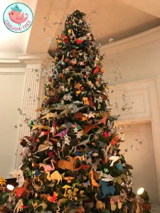 Origami Holiday Tree American Museum of Natural History 2016