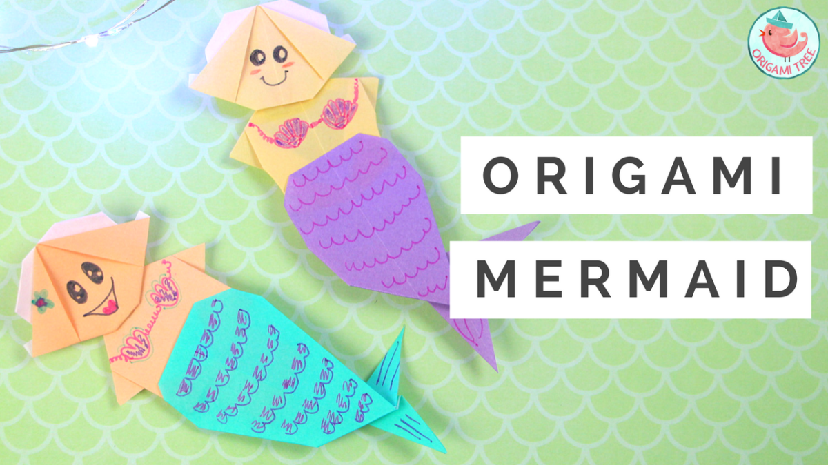 Origami Mermaid Tutorial