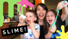 Slime with Eden and Samson
