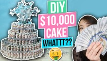 How to Make a Money Cake