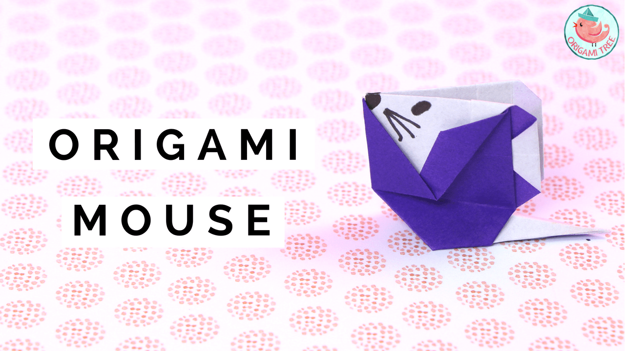 Origami Mouse Origamitree