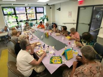 Senior Center, NYC, June 2018