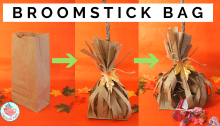 broomstick treat bag