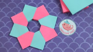 how to make a paper ninja star with sticky notes | For Home ... | 169x300