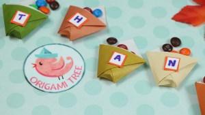 Origami Tree Cups Jenny W. Chan Origami Tree