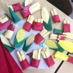 Origami Corn & Fries, fillesenrunning, CORN TUTORIAL: http://wp.me/p5AUsW-1vb, FRIES TUTORIAL: http://wp.me/p5AUsW-1sh
