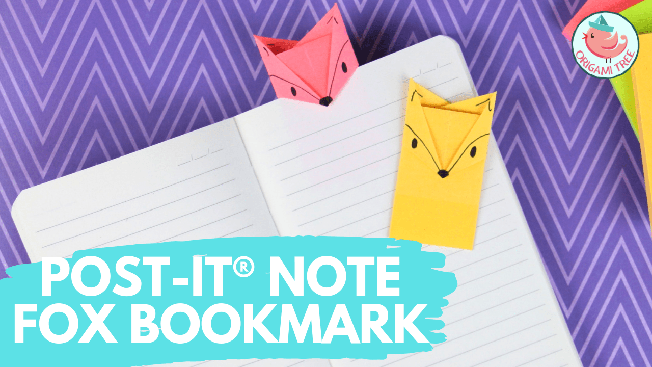 Easy Cat Bookmark - How to make a paper origami cat bookmark - YouTube | 720x1280